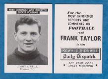 Everton Jimmy O`Neill Ireland (B)